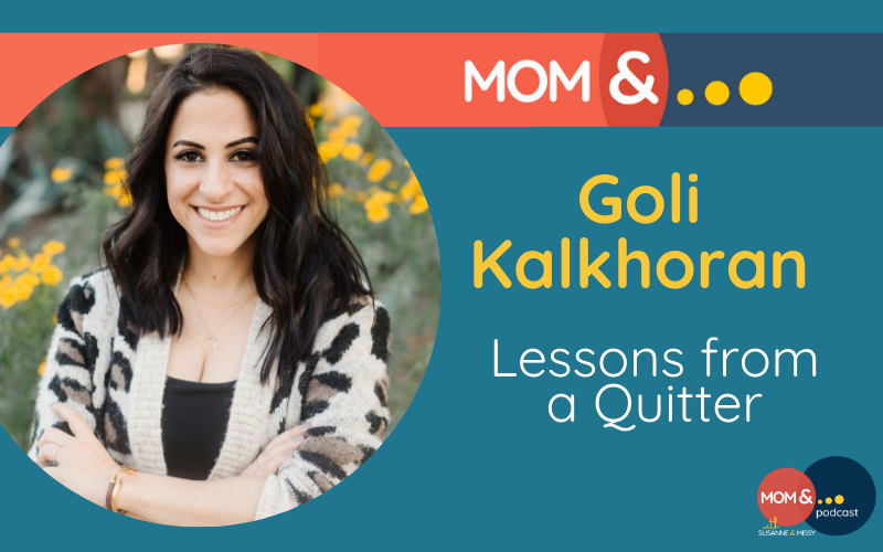 Goli Kalkhoran - Lessons From a Quitter